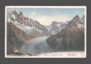 079834 FRANCE Chamonix Flegere et la Mer de Glace Vintage PC
