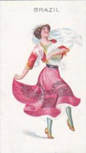 Wills Scissors Cigarette Card Dancing Girls No 2 Brazil