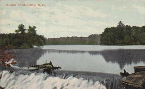 Adams Pond, Derry, New Hampshire, 1900-1910s