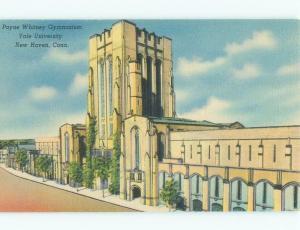 Unused Linen Yale University - New Haven Connecticut CT E0509