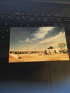 Vintage Postcard -  Cactus Motel, Moriarty New Mexico