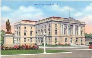 Post Office, Macon, Georgia, 30-40s