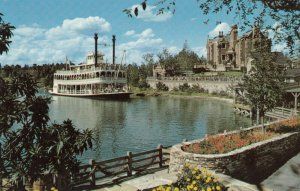 WALT DISNEY WORLD, Orlando, Florida, 1970s; Cruising the Rivers of America