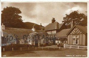 Scotland Postcard - Tibbie's - St Mary's Loch - Selkirkshire - Ref 16087A