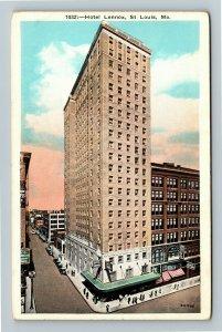 St Louis MO-Missouri, Hotel Lennox, Vintage Postcard