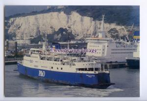 SIM0159 - P&O Ferry - Pride of Hythe ,built 1970 ex Free Enterprise V - postcard