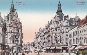 Rue Leys, ANVERS (Antwerpen), Belgium, 1900-1910s