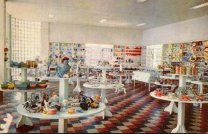 Kentucky Cave City Glassware and Pottery Shop Interior