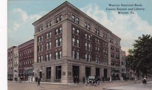 WARREN, Pennsylvania, 00-10s; Warren National Bank, Corner Second and Liberty