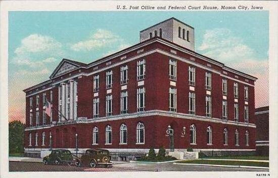 Iowa Mason City U S Post Office and Federral Court House