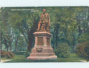 Divided-back MONUMENT SCENE Albany New York NY AE7983