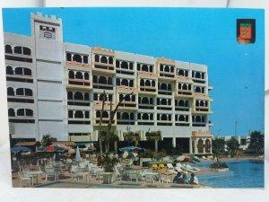 Vintage Postcard Hotel Salam & Swimming Pool Agadir Morrocco