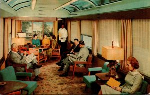 TRains Seaboard Railroad Silver Meteor The Sun Lounge 1965