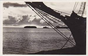 RP; Sunset at Harbour Oranjestad , Aruba , N.A. , 20-40s