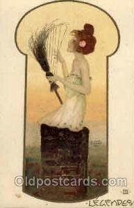Artist Raphael Kirchner Postcard Post Card unused