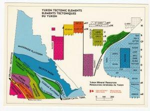 Yukon Tectonic Elements Map , 1981