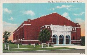 GARDEN CITY , Kansas, 1910s ; High School Auditorium