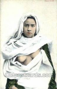 Fille Arabe Arab Nude Old Vintage Antique Post Card Post Card  Fille Arabe