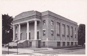 Athens, Alabama, 1910s ; First Christian Church