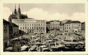 Czech republic Brno Zelný trh 02.69