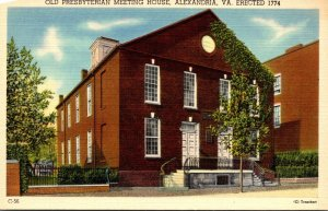 Virginia Alexandria Old Presbyterian Meeting House