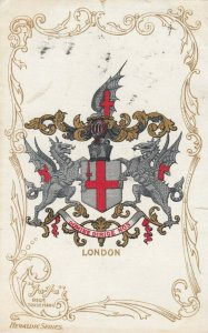 LONDON , England , 1905 ; Coat of Arms