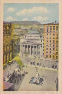 Bank of Montreal,Place D'Armes, Montreal, Canada, PU-1943