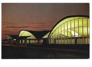 Lambert Municipal Airport Buildings Saint Louis Missouri 1960s