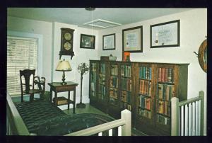 Shelburne Museum, Vermont/VT Postcard, Doctor's Office/Books
