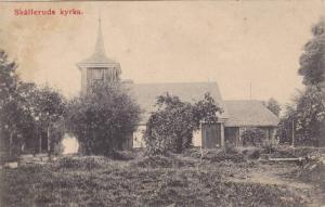Skalleruds Kyrka , Sweden , PU-1909