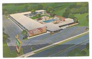 Holiday Inn Hotel, Swimming Pool, Lynchburg, Virginia, PU-1963