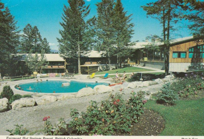 FAIRMONT HOT SPRINGS , B.C., Canada, PU-1971 ; Resort, Swimming Pool