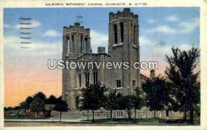 Dilworth Methodist Church Charlotte NC 1940