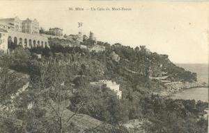 Nice, Un Coin du Mont-Boron, 1946 used Postcard