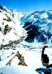 France - Val d'Isere, Savoie (Aerial Lift)
