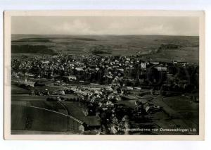 235545 GERMANY Donaueschingen i.B. airview Vintage postcard
