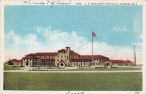 U S Veterans Hospital Cheyenne Wyoming 1938