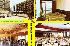 Hotel Kontiki Playa De Palma Kontiki Postcard