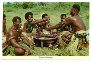 Fiji, 50-60s   Yaqona Ceremony