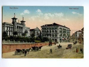 138460 SAN REMO Italy SANREMO Hotel National Vintage PC