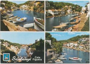 Santanyi, Cala Figuera, Spain, used Postcard