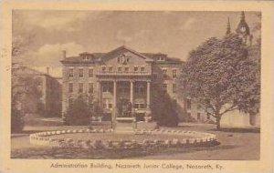Kentucky Nazareth Administration Building Nazareth Junior College Artvue