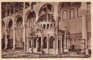 B95067 damas damasc tombeau de saint jean baptiste mosquee amawi syria