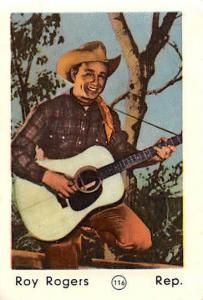 Movie Star Roy Rogers, Rep, play guitar, music, actor