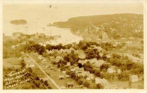 ME - Camden. Aerial View circa 1926     RPPC