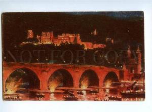 151892 Germany HEIDELBERG Castle Illumination NIGHT Schlossbel