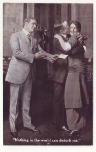 PC66 JLs old postcard pays to advertise