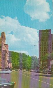 Arkansas Hot Springs Central Avenue Looking South