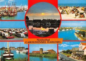 GG12861 Nordseebad Carolinensiel Harlesiel Hafen Schiff Harbour Boats Port