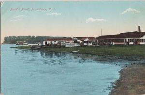 PROVIDENCE Rhode Island - FIELD'S POINT view 1910s era / BIGGER NOW !